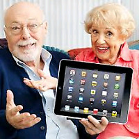 Computer, tablet and smart cellphone training for seniors