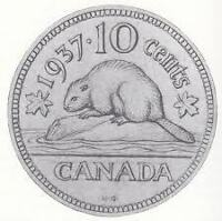 WANTED--CANADIAN & USA COIN COLLECTIONS---NELSON 380-2530