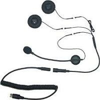 Open-Face Helmet Headset for 7 Pin Harley Davidson Audio Systems