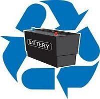 Automotive Battery Recycling: FREE Pick up or Drop off