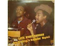 Roy Ranking & Raymond Naptali - Late Night Session (ORIGINAL UK PRESS) CF 1982 - RARE
