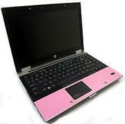 Pink HP Laptop Computer