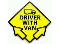 Van and driver - Collection / Delivery nationwide