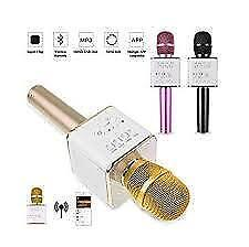 Weekly Promo! WIRELESS KARAOKE MIC KTV PLAYER CONDENSER WITH BLUETOOTH SPEAKER FOR IPHONE, ANDROID,WIRELESS Q9,