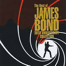 CD The best of James Bond 30th anniversary limited edition