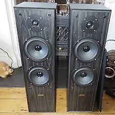 Acoustic Solutions AV-120 Stereo loudspeakers FLOOR SPEAKERS, 190W , 4-8 ohms