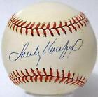 Sandy Koufax Autograph