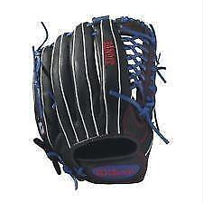 "Wilson Bandit 12.5"" Left Hand Throw Baseball Glove (RH Glove)"