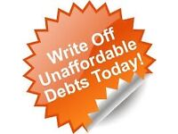 Wipe out council tax arrears, loans and credit card debt.