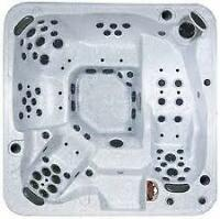The Highest End Arctic Spa 8 Foot 6-7 Seat 81 Jets 4 pumps