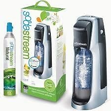 Sodastream - Un Used - Inc co2 & Pressure Bottle - Great for Soft Drinks & Wine or Beer