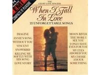 CD - WHEN I FALL IN LOVE – The Geoff Love Singers - (22 UNFORGETTABLE SONGS)