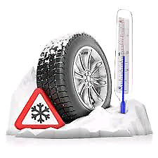 Winter tire installation mobile services