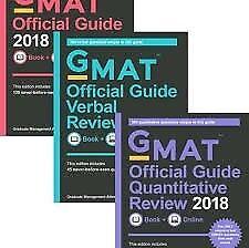 GMAT 2018 BUNDLE: books+cd
