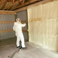 Save $$$ with 15% off spray foam jobs