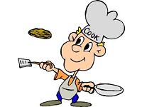 Part-time Chef/Cook for a family for one Wed morning or afternoon per week