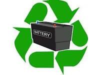Old car batterys