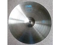 paiste 20 inch 101 ride cymbal