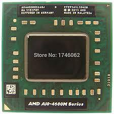 A10-4600M APU 2.3 - 3.2Ghz for fs1 socket for laptop