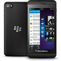 Black Blackberry Z10 Unlocked and Wind Compatible