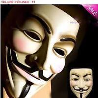 Masque de Anonimus, V for Vendetta