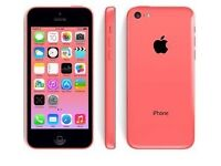 Pink apple i phone 5s
