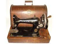 Singer (vintage) sewing machine
