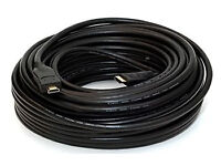 15M Metre HDMI HD 1080P High Speed Ethernet 1.4 Gold Lead Cable Cord PS3/4 SKY TV 3D COST £30
