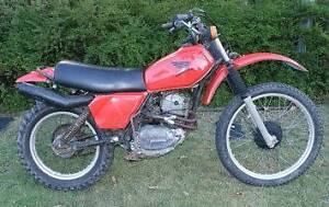 1980 Honda XL250S Wakerley Brisbane South East Preview