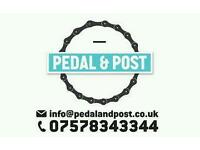 Pedal & Post Eco delivery and Storage