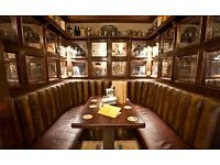 Commis Chef Required
