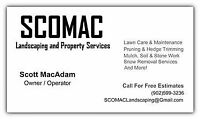Seasonal Lawn Care: SCOMAC Landscaping and Property Services