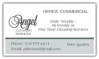 Offering cleaning services for offices/businesses