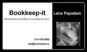 Looking for an Accountant? -Accounting & Bookkeeping services