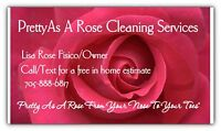 Pretty As A Rose Cleaning Services . Looking For clients!!!