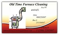 OLD TIME furnace cleaning