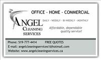 Office and commercial cleaning services available!