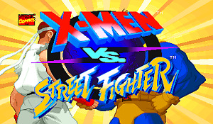 Arcade Coin operated machine - Xmen Vs Streetfighter