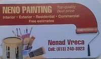 QUALITY PAINTING - NENO PAINTING 613 240 8923