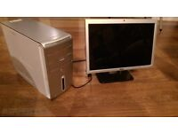 Dell Inspirion 531 desktop computer with modem,monitor and keyboard