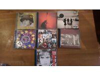 U2 CDS FOR SALE 28 RARE CDS