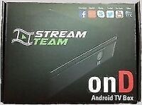 XBMC on ANDROID TV BOX-free internet tv -OnD media box