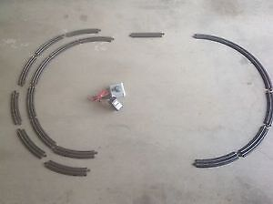 BACHMANN E-Z HO SCALE TRACK SYSTEM PIECES 1 AND A HALF CIRCLES Lockleys West Torrens Area Preview