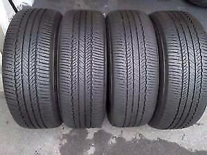 205/55/16 Brigestone used tires