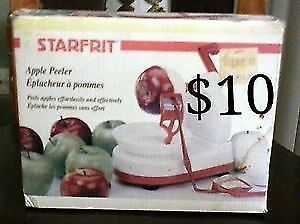 Starfrit Countertop Apple Peeler - ONLY $10!! London Ontario image 1