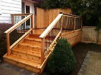 Canada's Best Decks, Fences and Driveways.