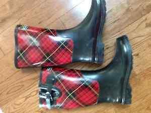 Rubber/Rain Boots - Plaid Charlie Paige!