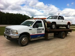 Towing, Flat Bed Service, Kitchener Waterloo Cambridge, Tow - It