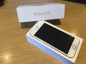 SILVER IPHONE 6S 64 GB - BELL / VIRGIN - in box - buy or trade