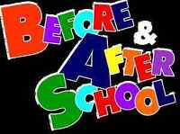 Before and after school childcare.